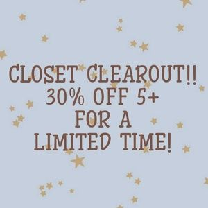 😍CLOSET CLEAROUT!!😍
